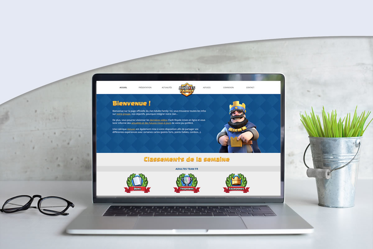 Site communautaire pour Adultes Family