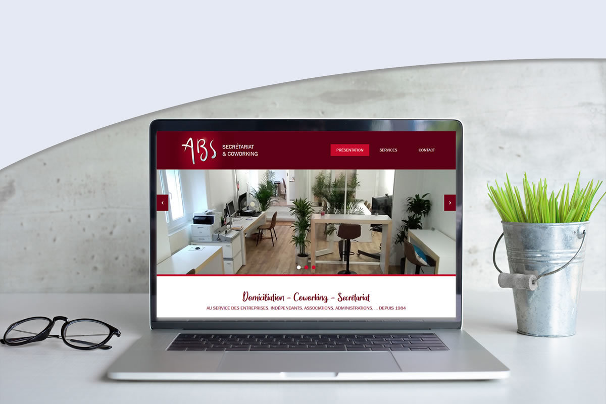 Site vitrine pour Assistance de Bureau Spécialisée (ABS)